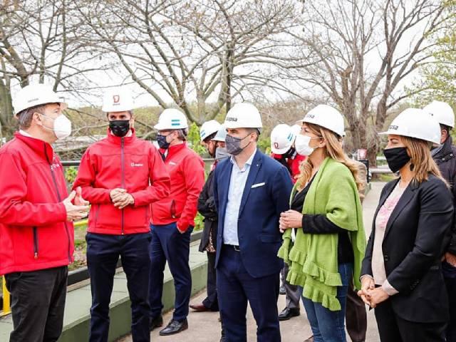 Magdalena Sierra y el secretario de Energía de la Nación visitaron la empresa DAPSA