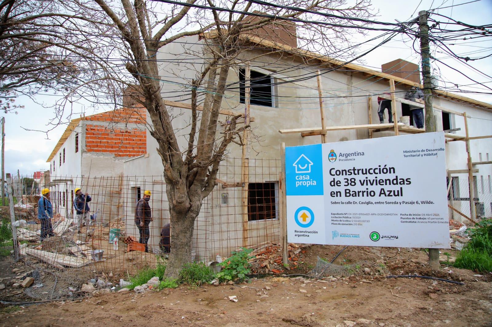 El municipio trabaja en proyectos de urbanización para los barrios de Avellaneda