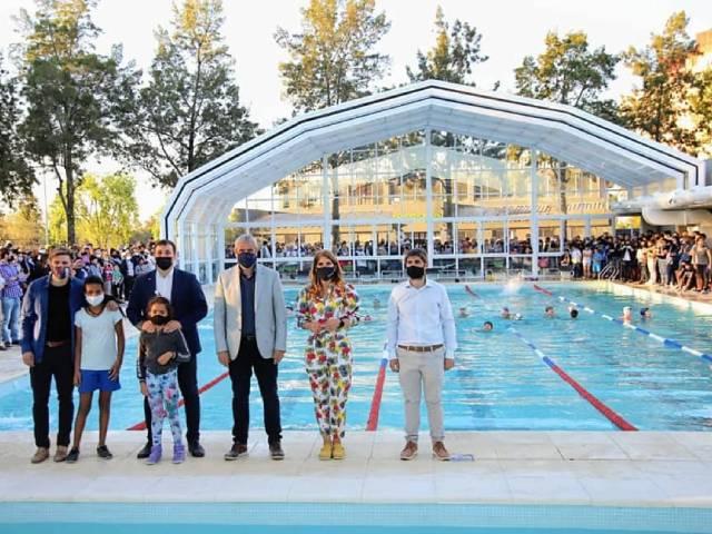 Avellaneda ya cuenta con un nuevo Natatorio Climatizado en La Saladita